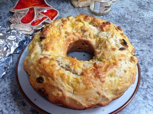 Polish Easter Bread - Bobka