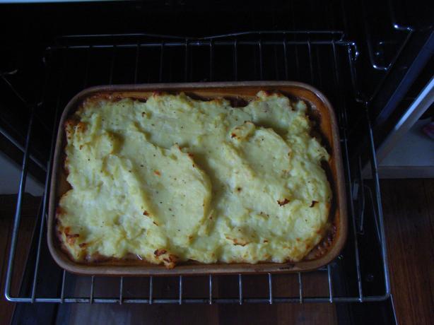 Low Fat Shepherd's Pie!