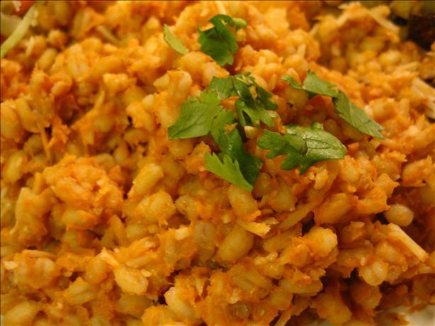 Orzotto Con Zucca (Barley & Pumpkin Risotto)