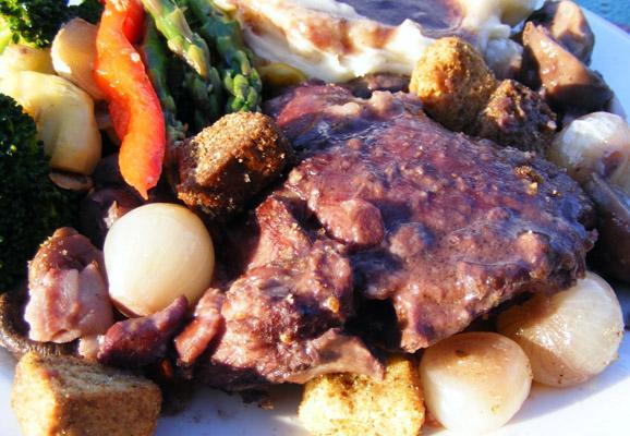Burgundy Chicken - Company-Worthy 1-Dish Feast