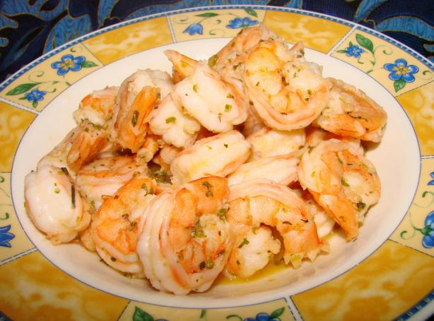 Mojo Garlic-Orange Shrimp