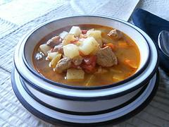 Goulash Soup - Pork or Lamb (Júhus Vagy Diszno Gulyas)