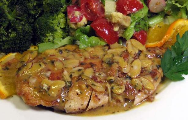 Orange Piccata Chicken