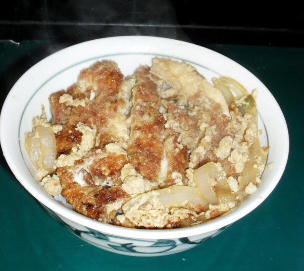 Katsu-don (pork Cutlet Donburi)