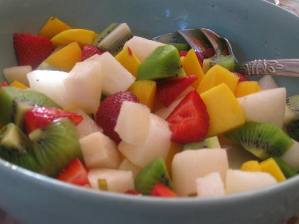 New Zealand Fruit Salad