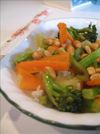 Vegetarian Pineapple Stir Fry