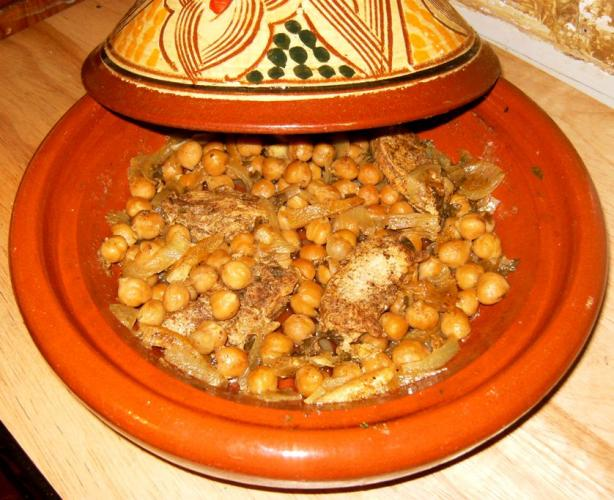 Moroccan Chicken & Chickpea Tagine
