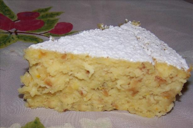 Almond, Citrus & Coconut Tart - With Gluten Free Option