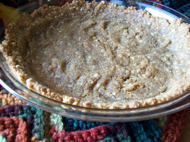 Peanut Butter Cookie Crumbs Pie Crust