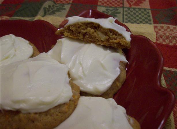 Carrot Drop Cookies