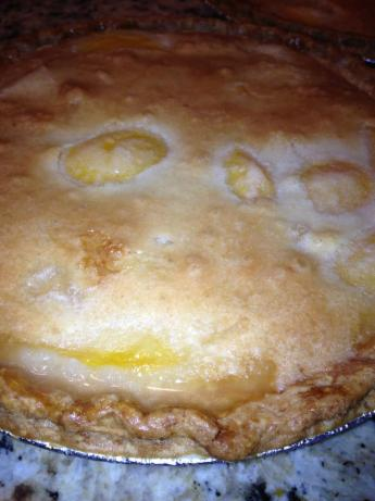 Rose's Easy but Yummy Peach Pie