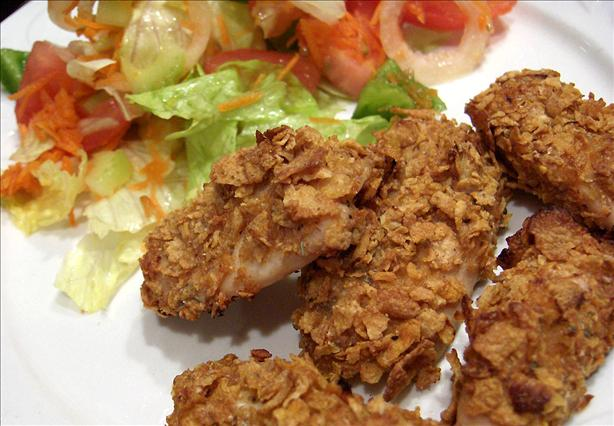 Crazy Plates Oven Fried Chicken Tenders