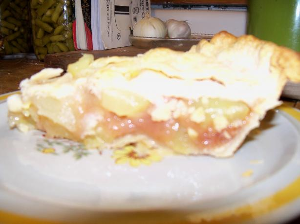 "Zucchini Pie ""mock Apple Pie"""