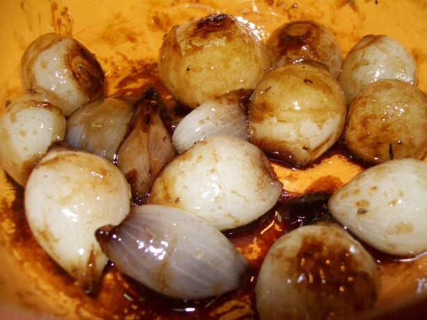 Balsamic-Glazed Baby Onions