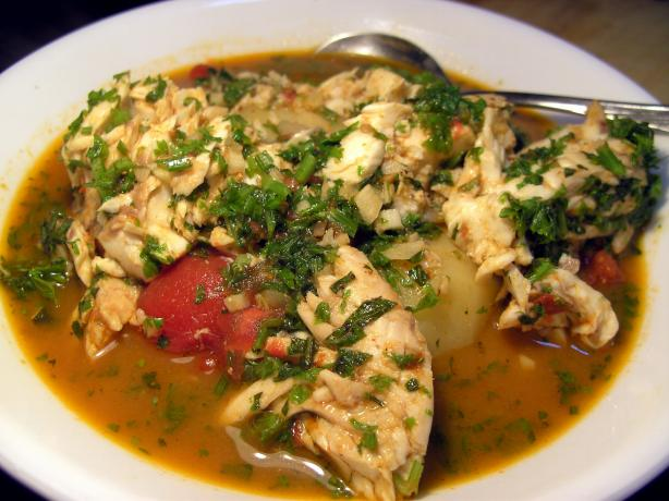 Tunisian Fish Stew With Potatoes
