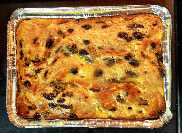 Stollen Bread and Butter Pudding