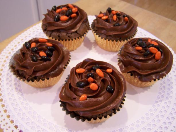Espresso Cupcakes With Milk Chocolate Ganache