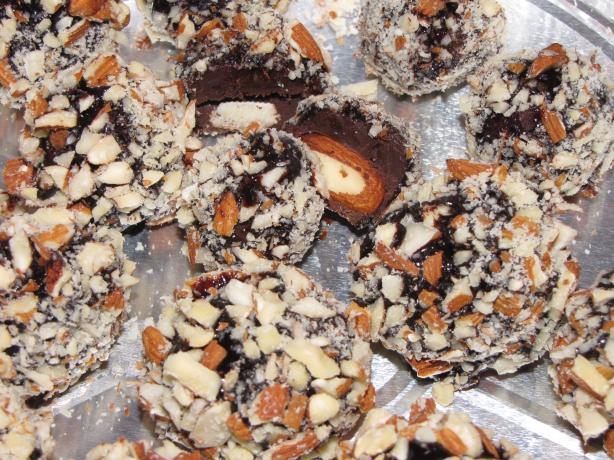 Almond Fudge Truffles
