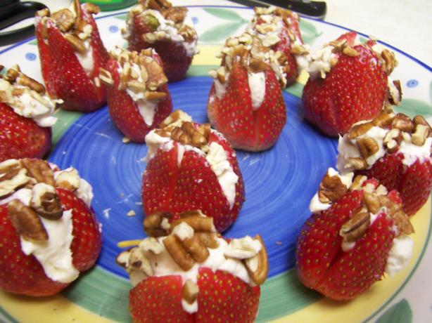 Southern Living's Stuffed Strawberries