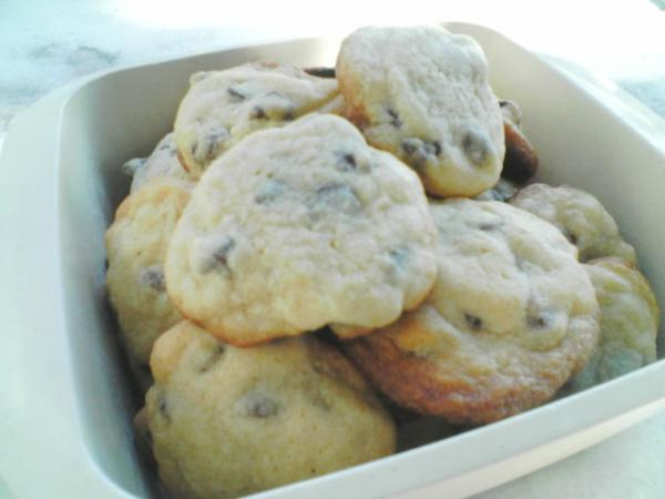 Dangerous Chocolate Chip Cookies