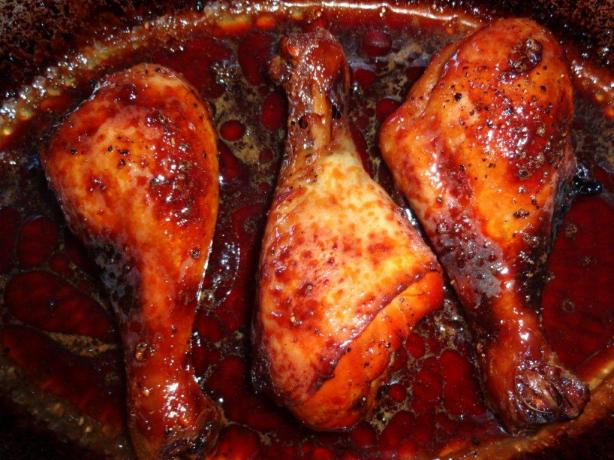Gordon Ramsay's Sticky Baked Chicken Drumsticks