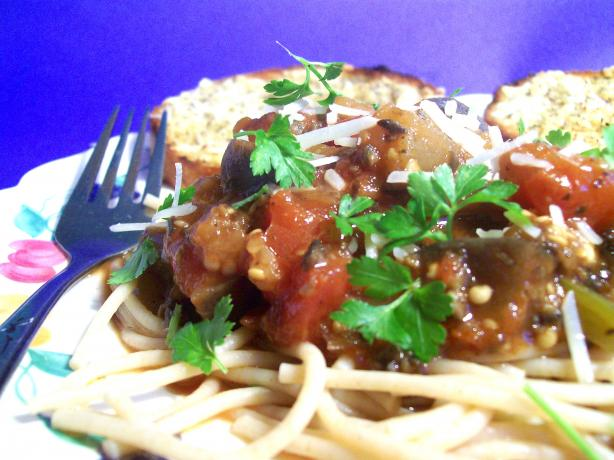 Eggplant Pasta Sauce