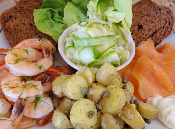 Scandinavian Seafood Platter