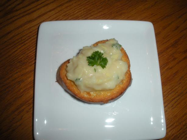 Butter-Bean Puree Appetizer