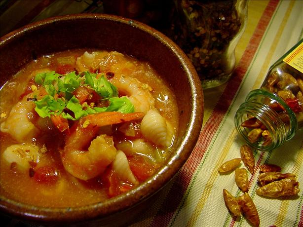 Spicy Seafood Bisque