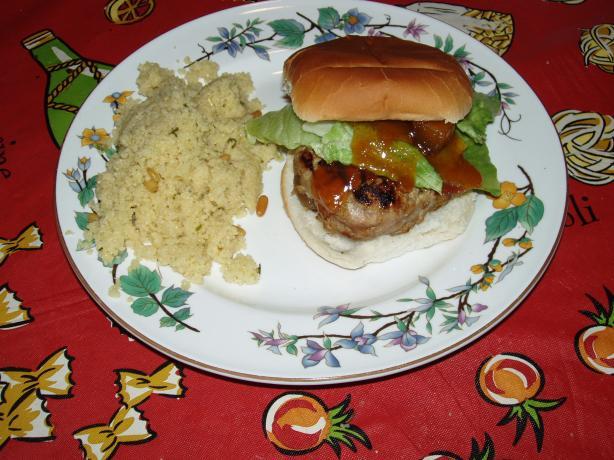 Turkey Curry Burgers
