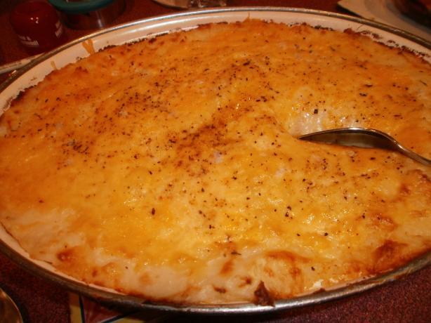 Gouda Mashed Potato Casserole