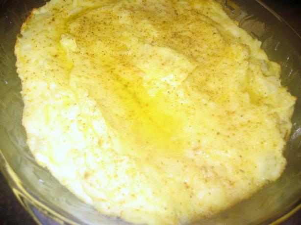 Gouda and Dill Mashed Potato Casserole