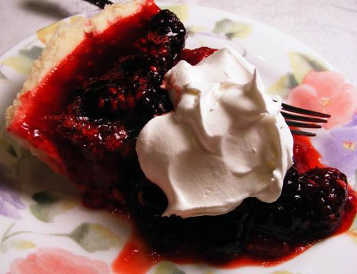 Raspberry Jello Pie