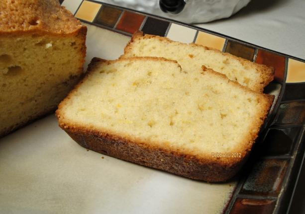 Italian Pound Cake (Food Processor)