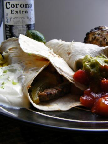 Steak Fajitas Corona