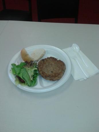 Vegetarian Peapo-Burger #5FIX