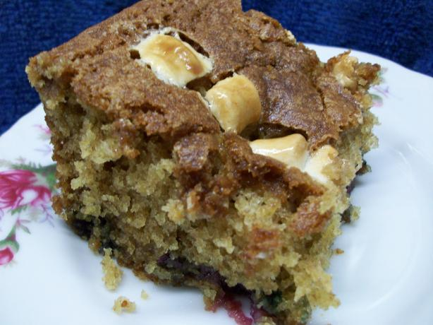 Gooey Blueberry Cake