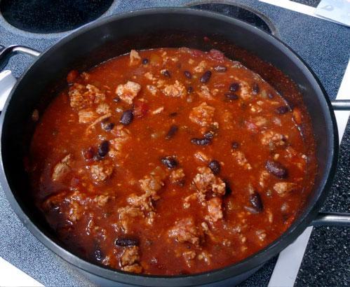 Dad's Homemade Chili