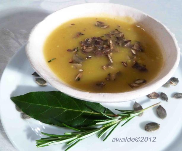 Puree of Butternut Squash Soup