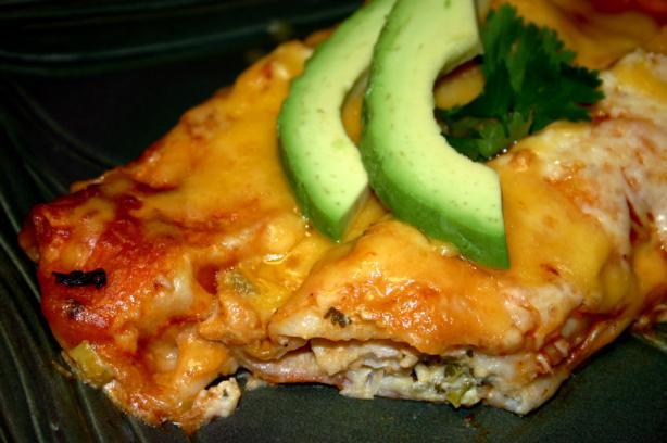 Savory Halibut Enchiladas