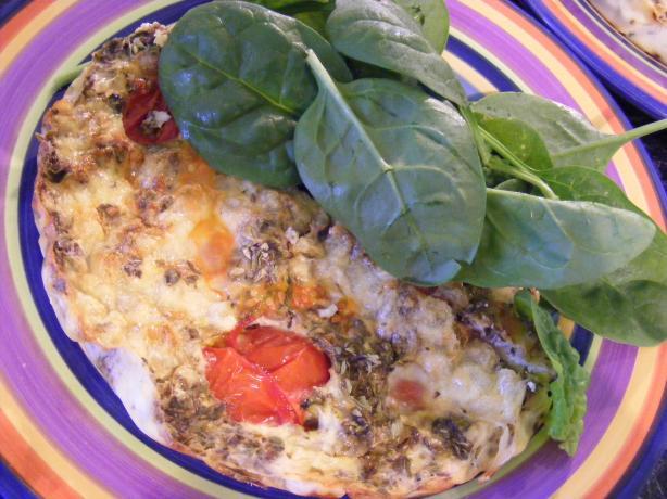 Tomato, Zucchini & Oregano Slice (21 Day Wonder Diet: Day 20