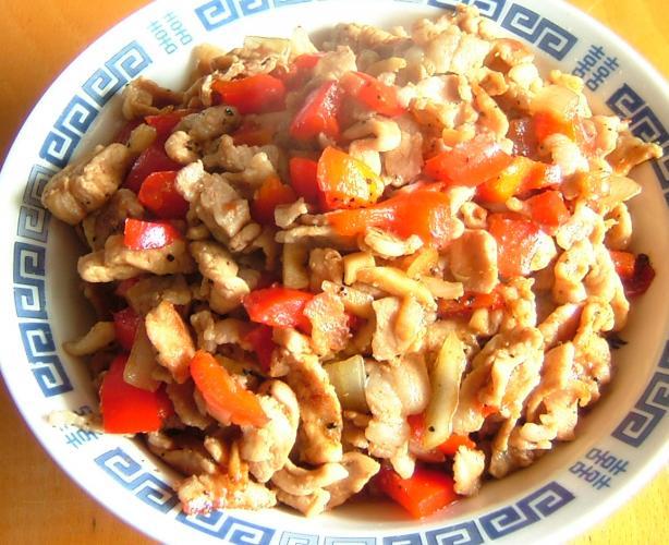 Garlic Pepper Pork