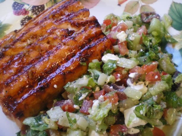 Hoisin Glazed Salmon or Sea Bass