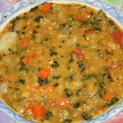 Smells so Good Lentil Soup