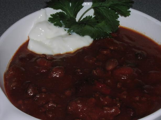 Dave's 15 Degree Chili