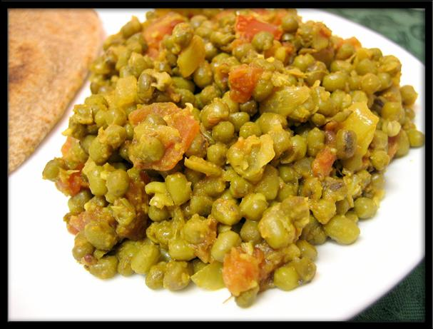 Uncle Bill's Mung Bean Curry