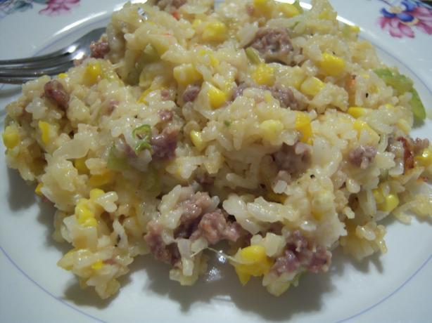 Chadron Sausage & Rice Casserole
