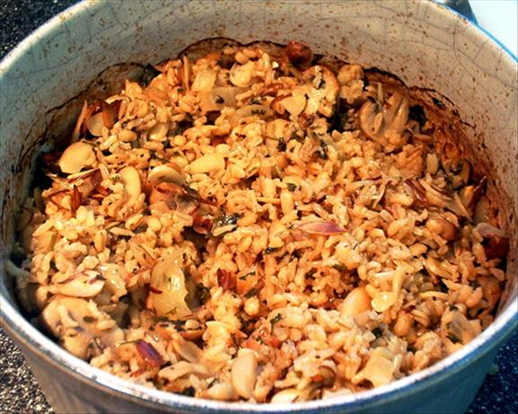 Barley-Rice Pilaf