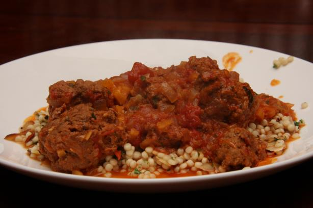 Moroccan Meatballs & Couscous