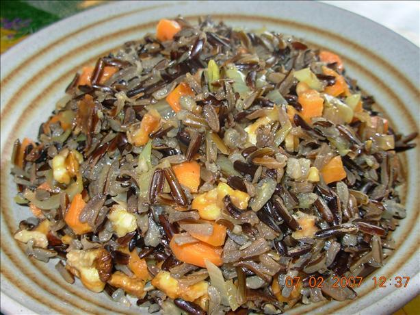 Wild Rice Pecan Pilaf